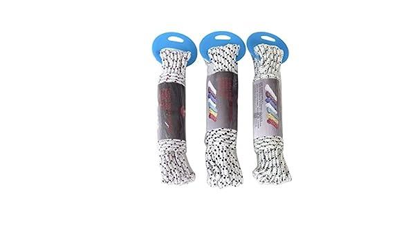 Cmagic® Cuerda 10 M 4 mm Cordón cordel tensor náutica Cordelette: Amazon.es: Bricolaje y herramientas