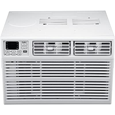 Whirlpool Energy Star 115V Window-Mounted Air Conditioner with Remote Control White