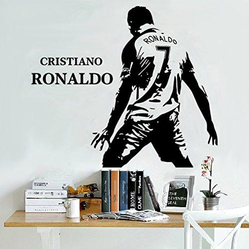 7e6b78b3b0 ASENER Cristiano Ronaldo Portogallo VS Spagna CR7 Goal Celebration Logo  Adesivi Murali, Appassionati di Calcio Decor Stickers, Ronaldo Firmato  Poster ...