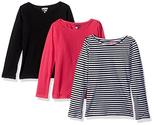 Limited Too Girls 3 Pack Long Sleeve T-Shirt (More Styles Available)