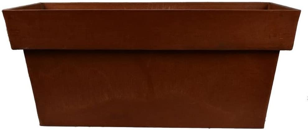 Arcadia PSW F80C Window Box Stark Planter, 32 by 13-Inch, Chocolate