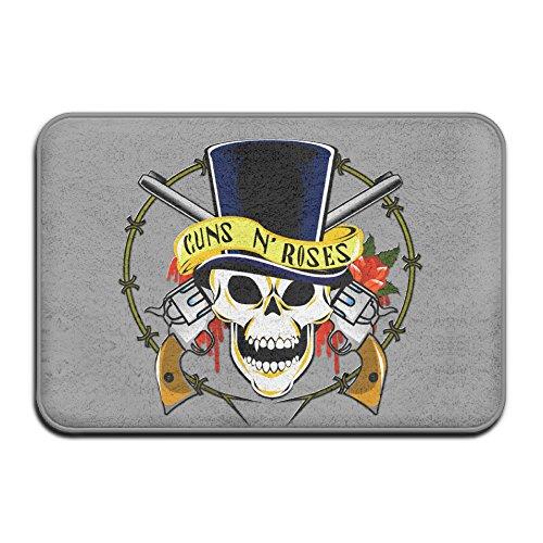 Kongpao Guns N Roses Logo Doormats / Entrance Rug Floor Mats