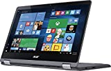 "Acer Aspire R Flagship 15.6"" 2-in-1 FHD IPS Touchscreen Laptop (2017 Model), Intel Core i7-7500U, 12GB DDR4 RAM, 1TB HDD, NVIDIA GeForce 940MX, HDMI, Bluetooth, 802.11ac, Backlit Keyboard, Win10"