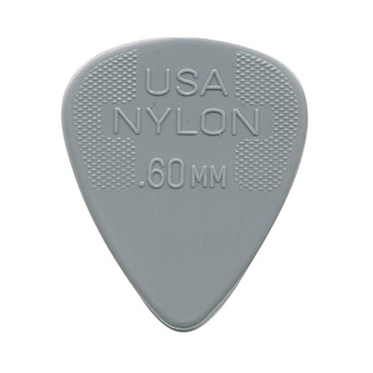 Dunlop nailon Púas para guitarra de tamaños: Amazon.es: Instrumentos musicales