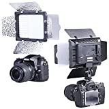 Neewer® W160 LED Photo Studio Barndoor Light Continuous Lighting Panel Kit LED Video Light for Digital Camera
