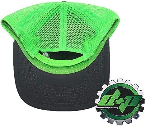 Dodge Cummins trucker hat richardson Charcoal Gray Yellow mesh flex fit lg//xl