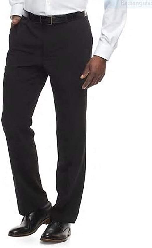 9 Slim-Fit Sharkskin Flat-Front Dress Pants Apt Men