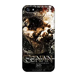 New Style Burrisoutdoor98 Conan 3d Premium Tpu Covers Cases For Iphone 5/5s Black Friday