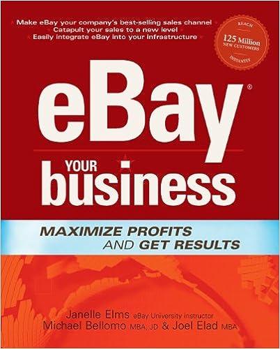 Amazon com: eBay Your Business: Maximise Profits and Get