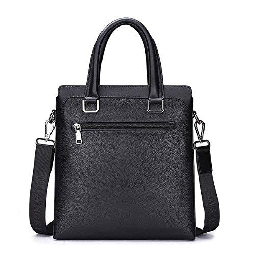 BULAGE Taschen Leder Männer Mobiler Vertikalschnitt Leder Geschäft Schulter- Messenger Dokumente Bequem Und Praktisch Brown