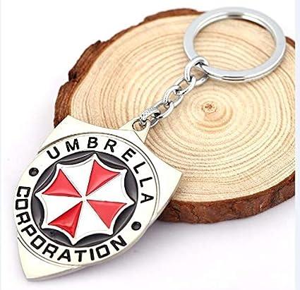 FITIONS - Red Resident Evil Umbrella Keychain Model Designer ...
