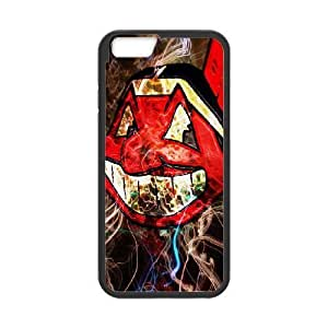 iphone6 4.7 inch phone case Black Cleveland Indians HUI5009128
