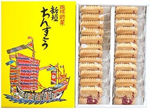 Amazon | 新垣ちんすこう 24袋入り (2個×24袋)×2箱 沖縄のお土産で ...