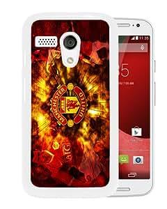 Hot Sale Motorola Moto G Case ,Manchester United 4 White Motorola Moto G Cover Unique And High Quality Designed Phone Case