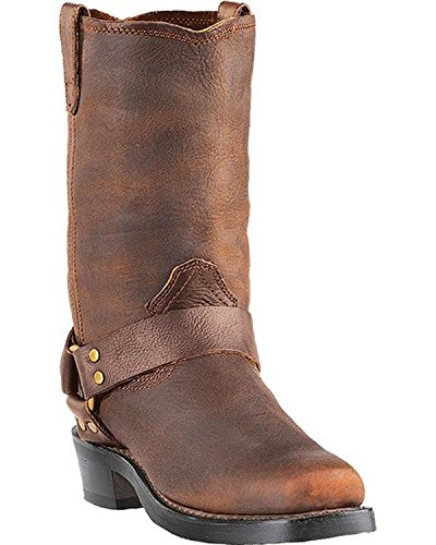 Mens Riding Boots Brown - 4