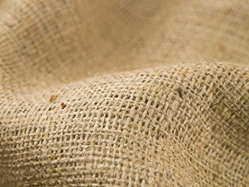 Hessian Fabric (Thick) 137cm Width. Sold by the metre, Free Delivery Fabric Land