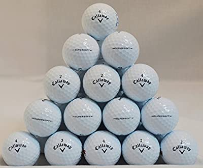 60 Callaway Supersoft 5A Grade Golf Balls