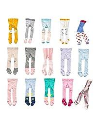 XUNYU 0-3T Baby Girls Cotton Legging Pants Infant Toddler Warm Stockings Tights