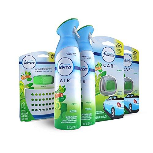 Febreze Air Freshener Bundle, Gain Original