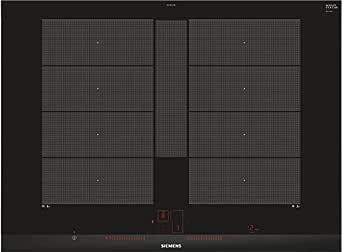 Siemens EX775LYE4E hobs Negro Integrado Con - Placa (Negro, Integrado, Con placa de inducción, 19 cm, 2200 W, 22 cm)