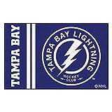 """FANMATS 19277 Tampa Bay Lightning Uniform Starter Rug, Team Color, 19""""x30"""""""