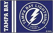 """FANMATS 19277 Tampa Bay Lightning Uniform Starter Rug, Team Color, 19"""""""