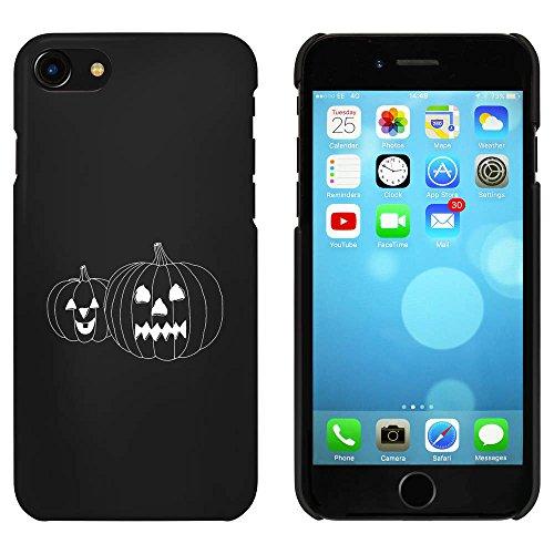 Noir 'Effrayant Citrouilles' étui / housse pour iPhone 7 (MC00066739)