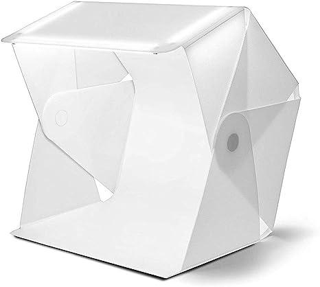 SY&R Portátil Estudio fotográfico 60x63cm Caja de Luz Foldable con ...