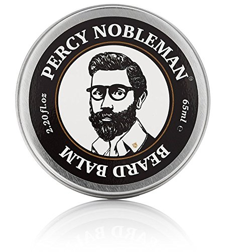 Beard Balm By Percy Nobleman - New All Natural Leave in Conditioner for Men. 2.2oz Tin.