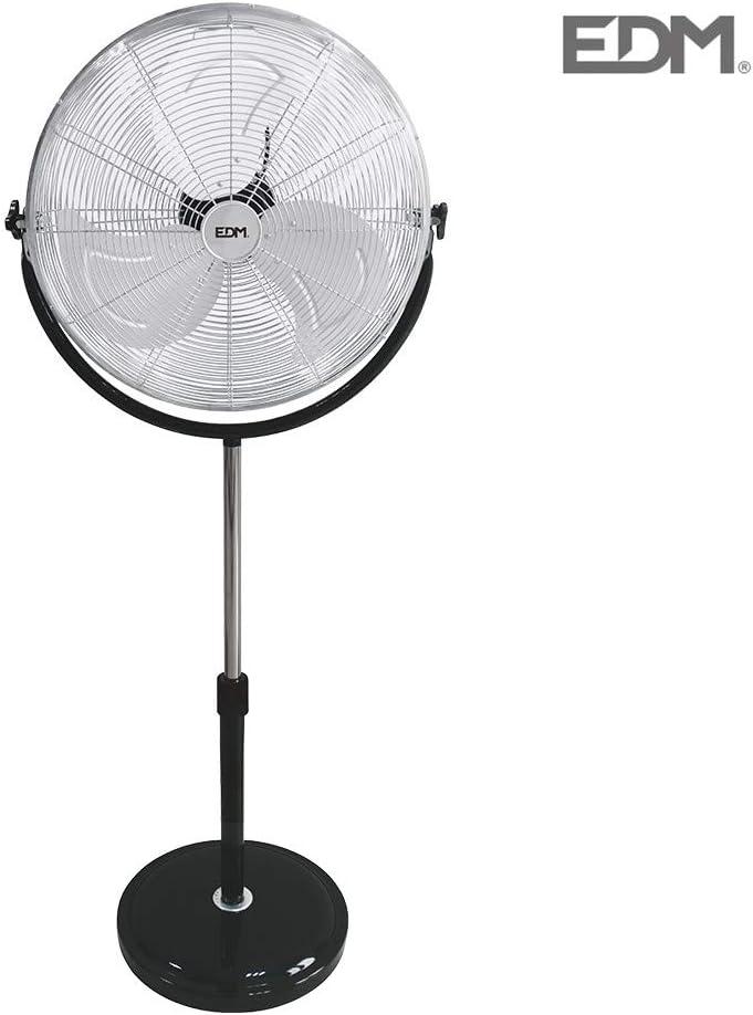 Ventilador de pie 120W 50cm base redonda EDM 33939