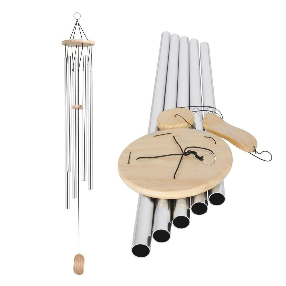 Yaheetech 58'' Large Wind Bell Chimes Deep Tone Windchimes Garden Outdoor Ideal Gift