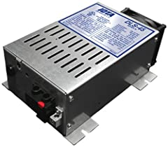 The DLS-55 Power Converter/Battery Charger from IOTA Engineering converts nominal 108-132 AC voltage to 13.4 DC voltage for both DC load operation and 12V battery charging. As a power supply, the unit's tightly controlled regulation allows th...
