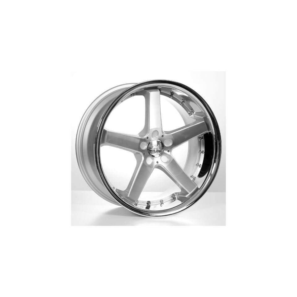 20 Cs5 Mercedes Benz Wheels & Tires Pkg   Machined Face W/Concaved Design (4Pcs)