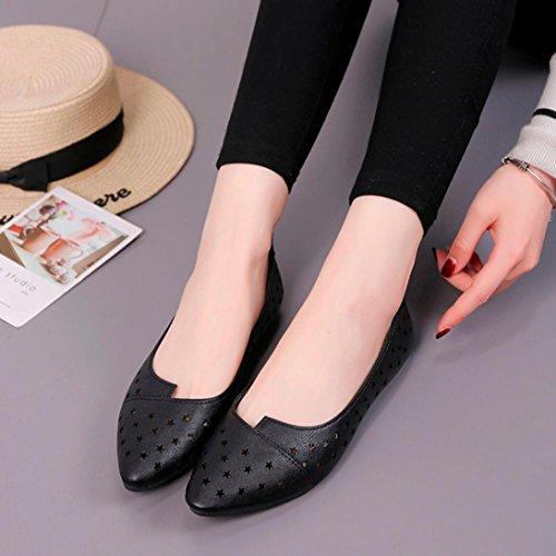 Planas Chanclas de Cordones Sandalias ASHOP Playa De Bailarinas Zapatos Cuero Loafer de Mujer C y Star Sandalias Verano Bohemia Moda Zapatillas Las qHAxHXUw