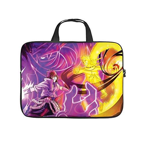 Laptop Bag,Naruto Vs Sasuke (4),Waterproof Laptop Sleeve Case,Laptop Handle Bag,Notebook Computer Bag,12inch,for iPad,MacBook Pro,MacBook Air,Surface (Macbook Air 11 Inch Vs Surface Pro 4)