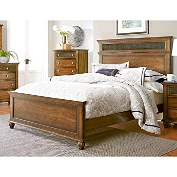 Superb Progressive Furniture Cotswold Grove Panel Complete Bed Alphanode Cool Chair Designs And Ideas Alphanodeonline