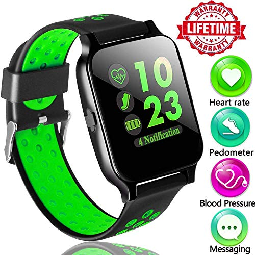 Touch 3g Silicone (Fitness Tracker Watch with Heart Rate Monitor,Sports Activity Tracker Watch with Sleep Monitor Blood Pressure Calorie Counter Pedometer Watch for Kids Women and Men Call/SMS)