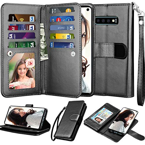 Njjex Wallet Case for Galaxy S10, for Galaxy S10 6.1