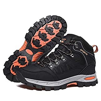 Walking Boots Mens Womens Trekking & Hiking Boots Lightweight Outdoor Hiking Shoes Walking Trainers Trail Running Shoes… 2
