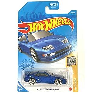 DieCast Hotwheels Nissan 300ZX Twin Turbo (Blue) 23/250, HW Turbo 1/5