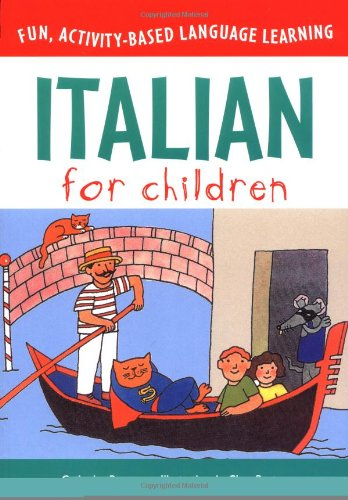 Italian for Children (Book & CD) (Language for Children Series) by McGraw-Hill