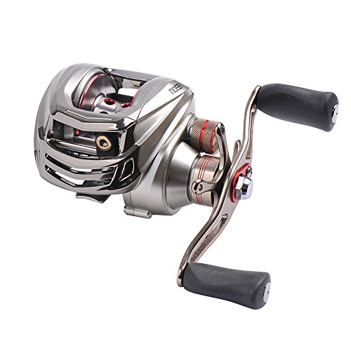Noeby baitcasting fishing reel 10 1 ball bearings casting for Left handed fishing reels
