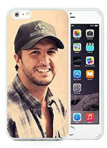 Hot Sale iPhone 6 Plus 5.5 Inch Case ,Popular And Unique Designed With Luke Bryan White iPhone 6 Plus 5.5 Inch High Quality Cover