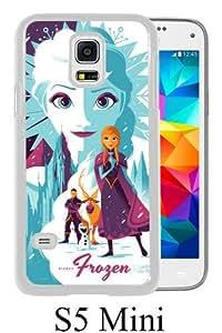 Best Sale Samsung Galaxy S5 Mini Case Frozen Elsa White Fashionable Samsung Galaxy S5 Mini Custom Case