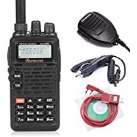 Wouxun KG-UV899 Dual Band Two-Way Radios + 1 Speaker Mic + 1 Car Charger Cable + 1 USB Programming Cable
