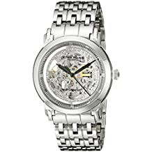Stuhrling Original Men's Classic Winchester Elite Automatic Skeleton Stainless Steel Watch 165A.33112