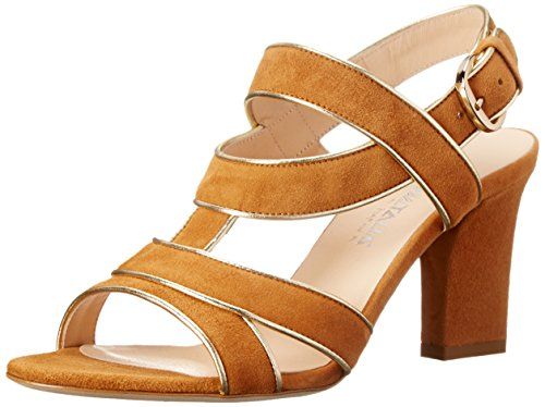 Aquatalia by Marvin K. Womens Vesta Dress Pump Camel Suede