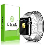 Apple Watch 42mm Screen Protector, IQ Shield LiQuidSkin Full Body Skin + Full Coverage Screen Protector for Apple Watch 42mm HD Clear Anti-Bubble Film - with