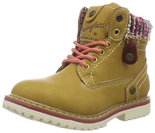Wrangler Mädchen Creek Zip Girl Kurzschaft Stiefel Gelb (24 Tan Yellow)