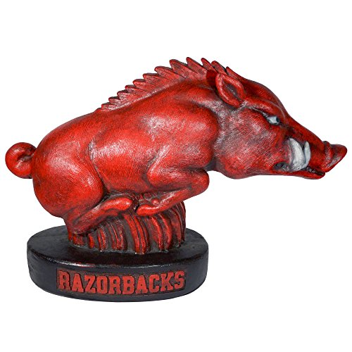 Stone Mascots - University of Arkansas Razorback ''Tusk'' College Stone Mascot by Stone Mascots